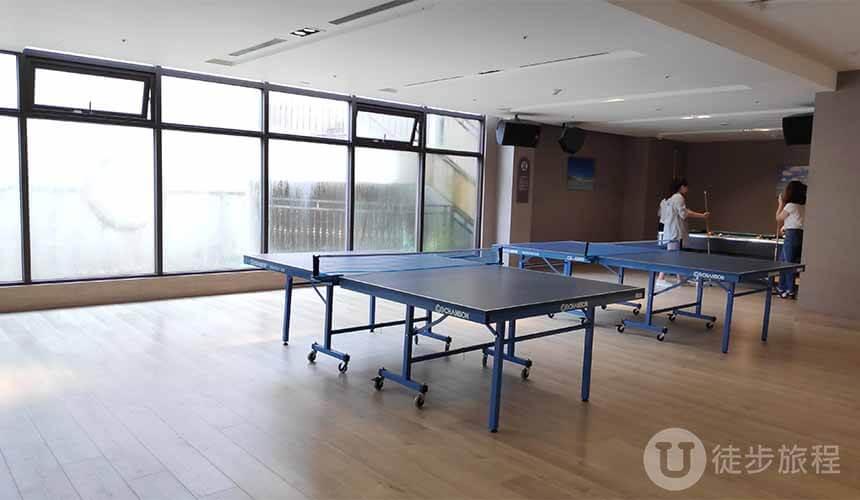 福容福隆桌球室