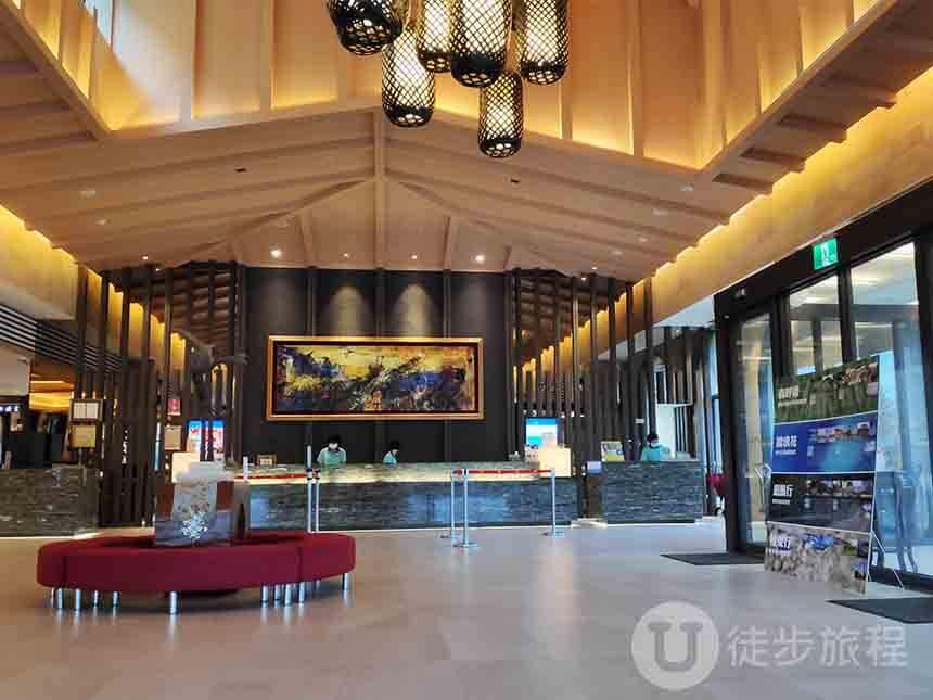 福隆福容飯店大廳