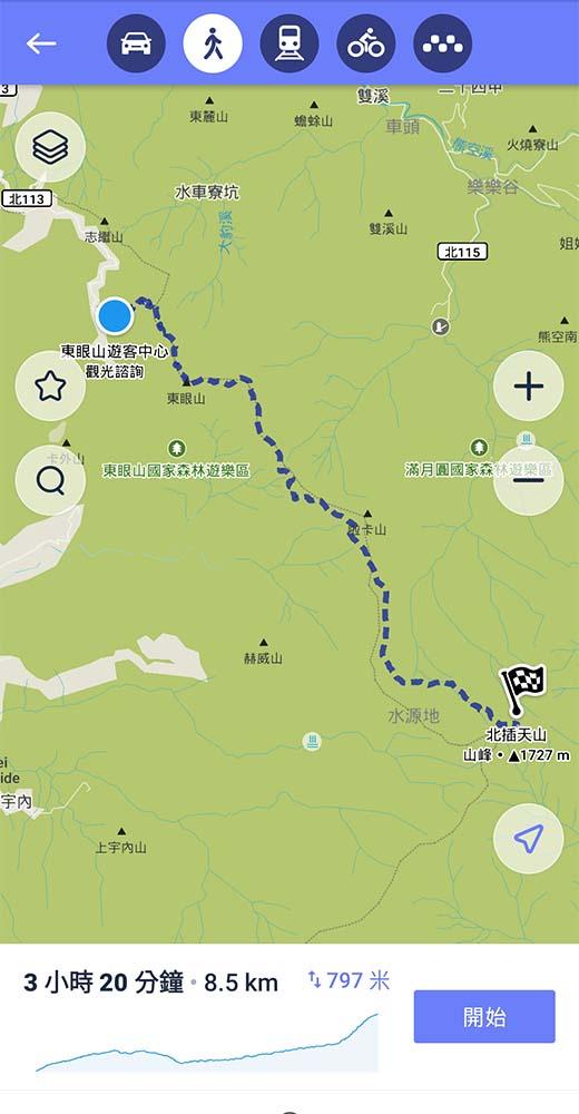國內台灣 旅遊APP Maps.me